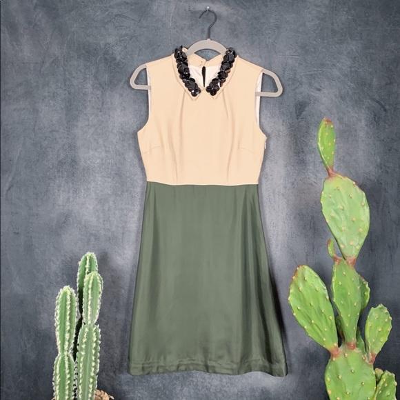 kate spade Dresses & Skirts - Kate Spade NY Rosina Beaded Collar Dress G293